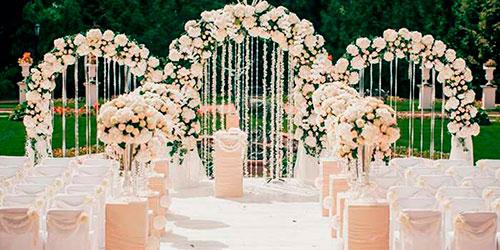 Оформители на свадьбу в Москве